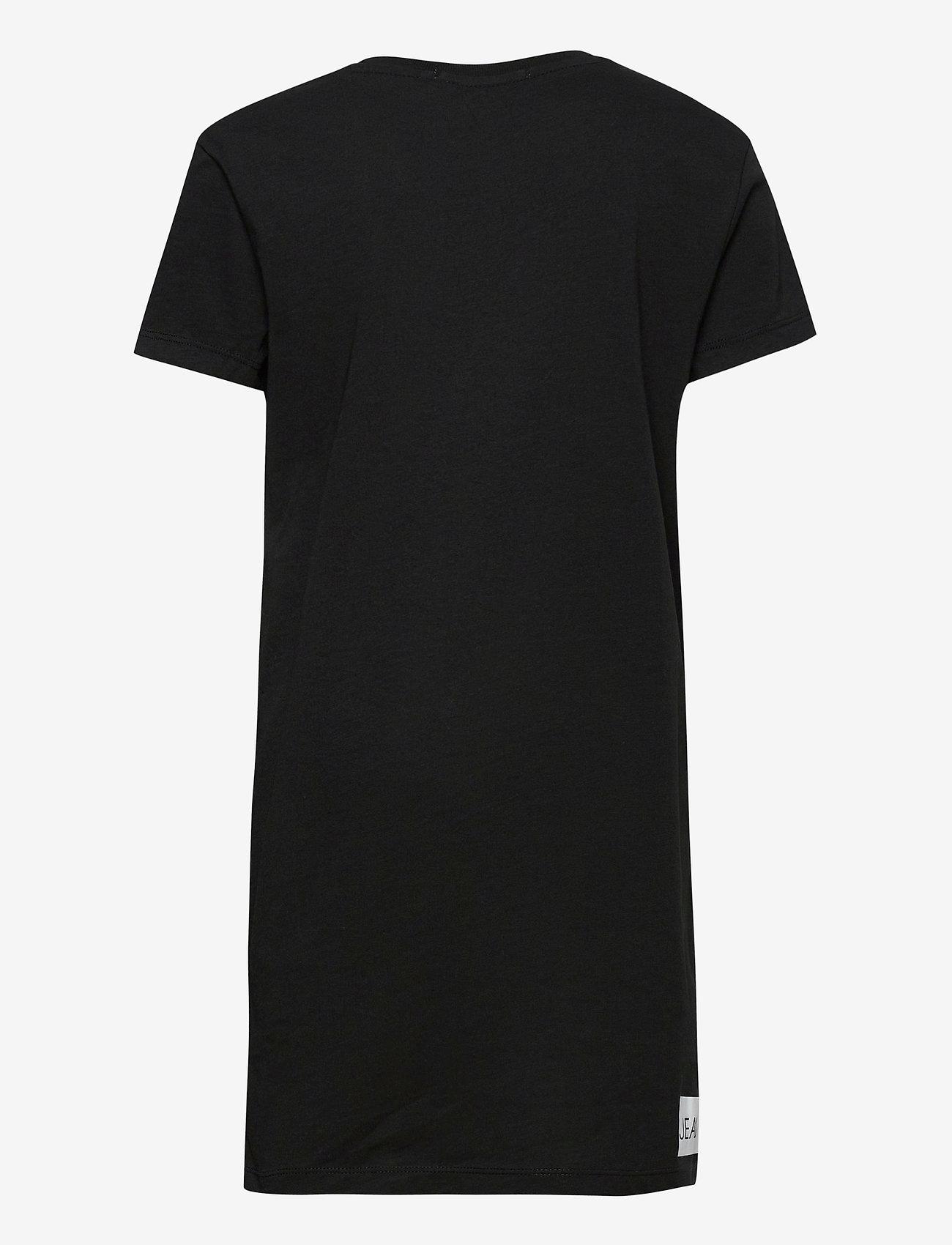 Calvin Klein - INSTITUTIONAL SS T-S - kleider - ck black - 1