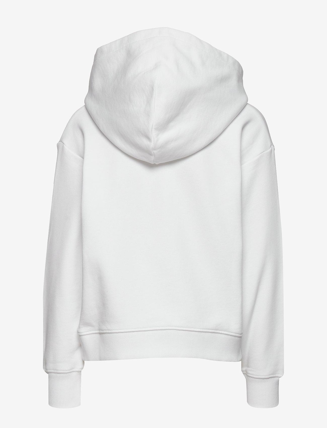 Calvin Klein - IRIDESCENT LOGO HOODIE - hoodies - bright white - 1