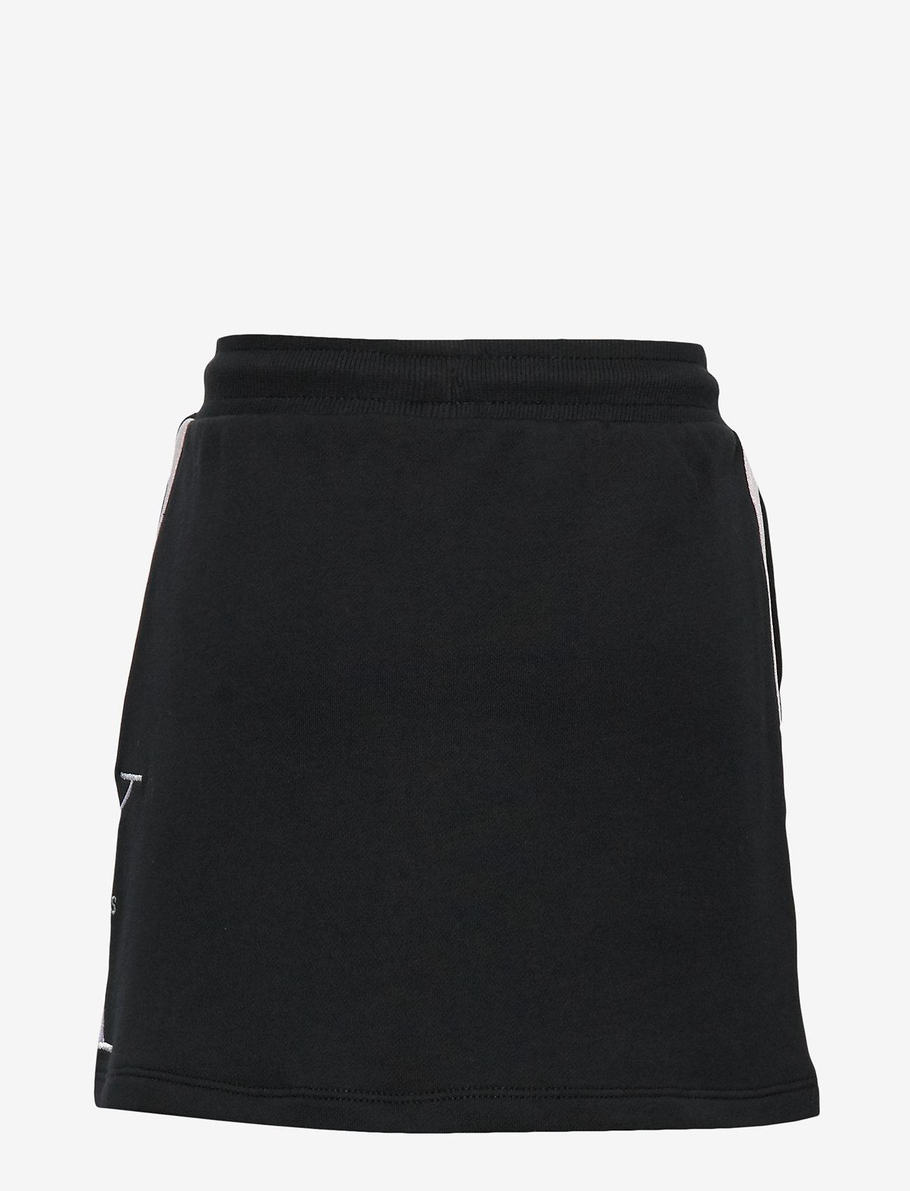 Calvin Klein - MONOGRAM STRIPE KNIT - spódnice - ck black - 1