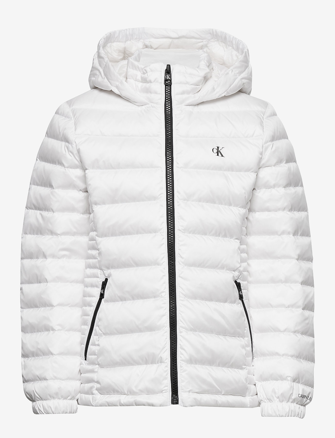 Calvin Klein - FITTED LIGHT DOWN JACKET - puffer & padded - bright white - 0