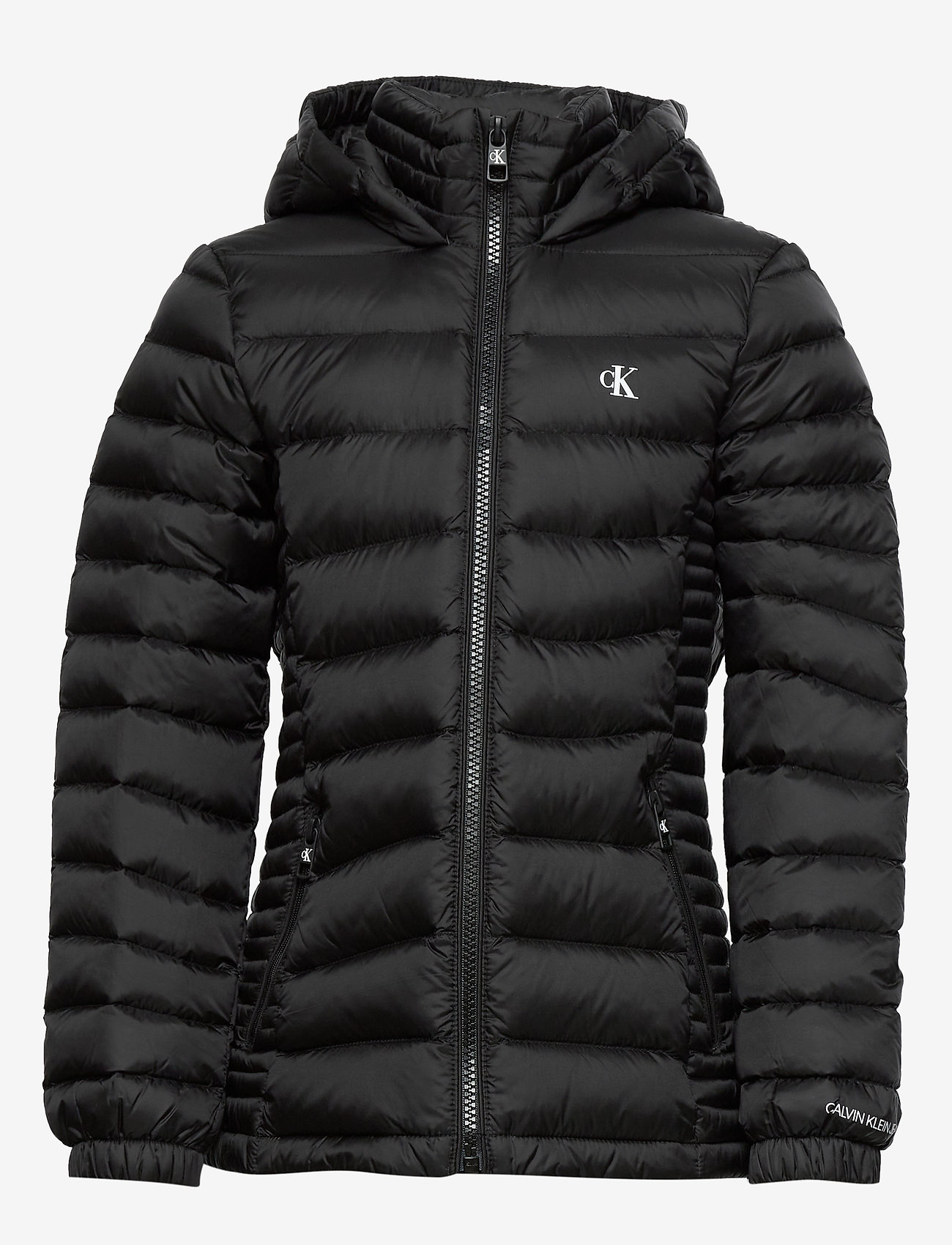 Calvin Klein - FITTED LIGHT DOWN JACKET - dunjakker & forede jakker - ck black - 1