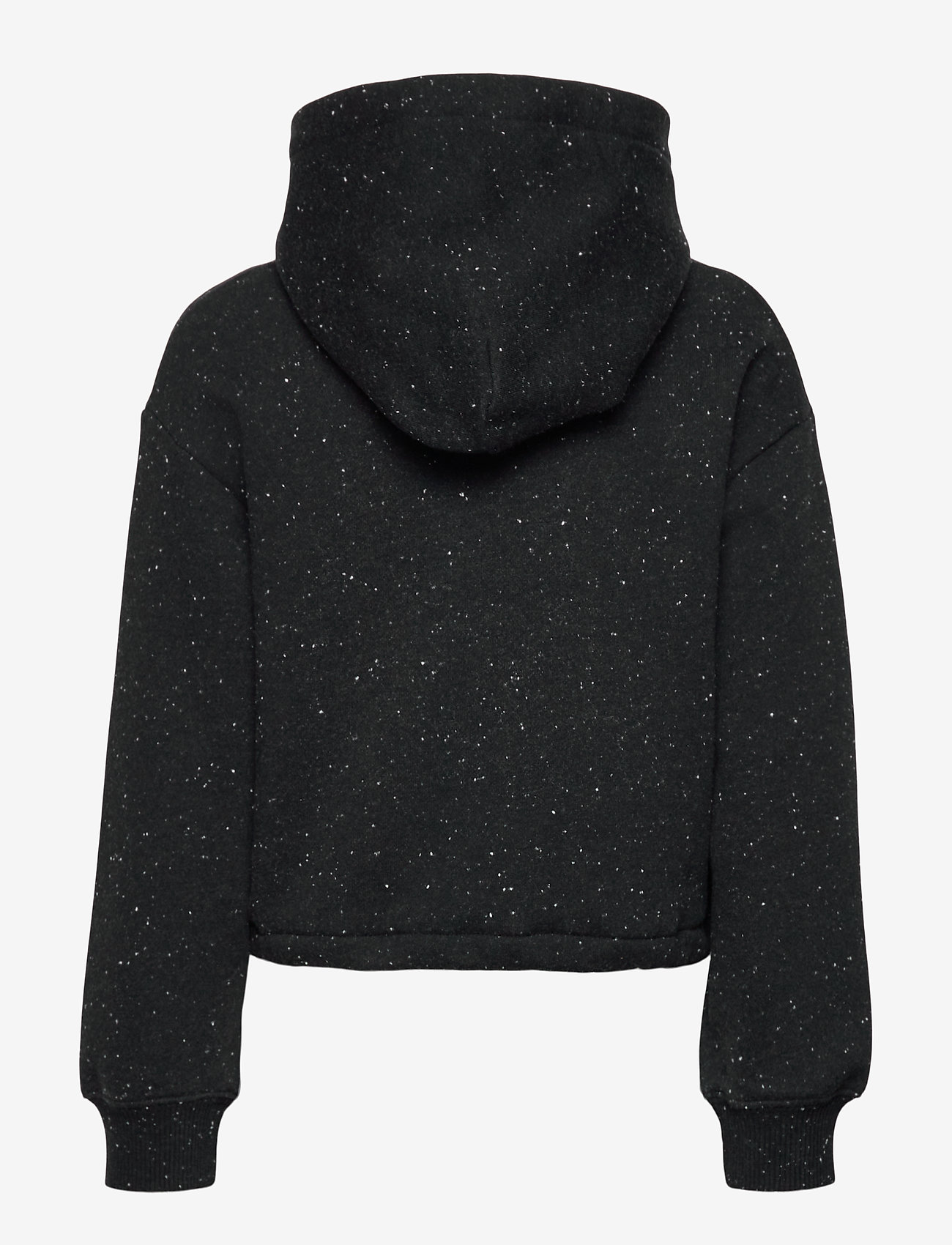 Calvin Klein - OVERLAPPING MONOGRAM BOXY HOODIE - kapuzenpullover - ck black - 1