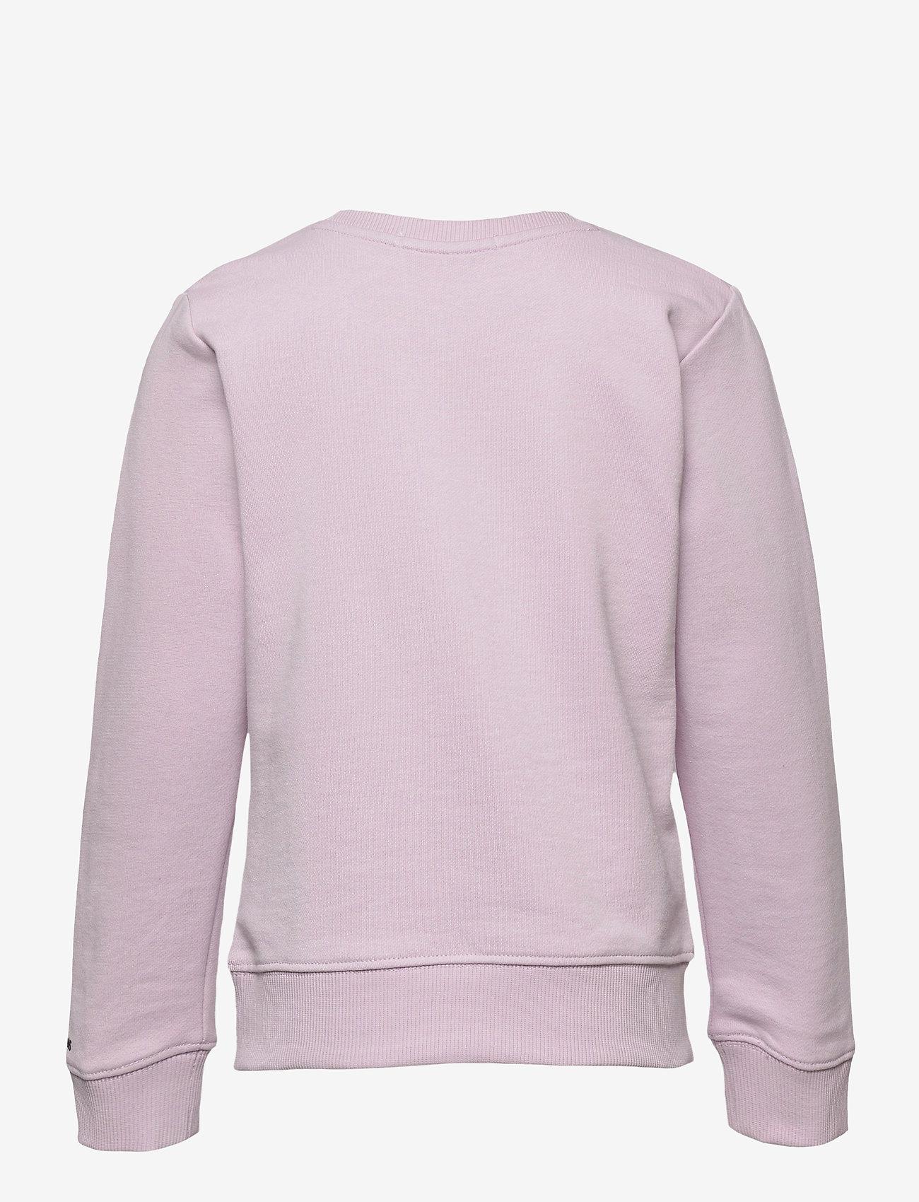 Calvin Klein - CIRCLE MONOGRAM SWEATSHIRT - sweatshirts - lavender pink - 1