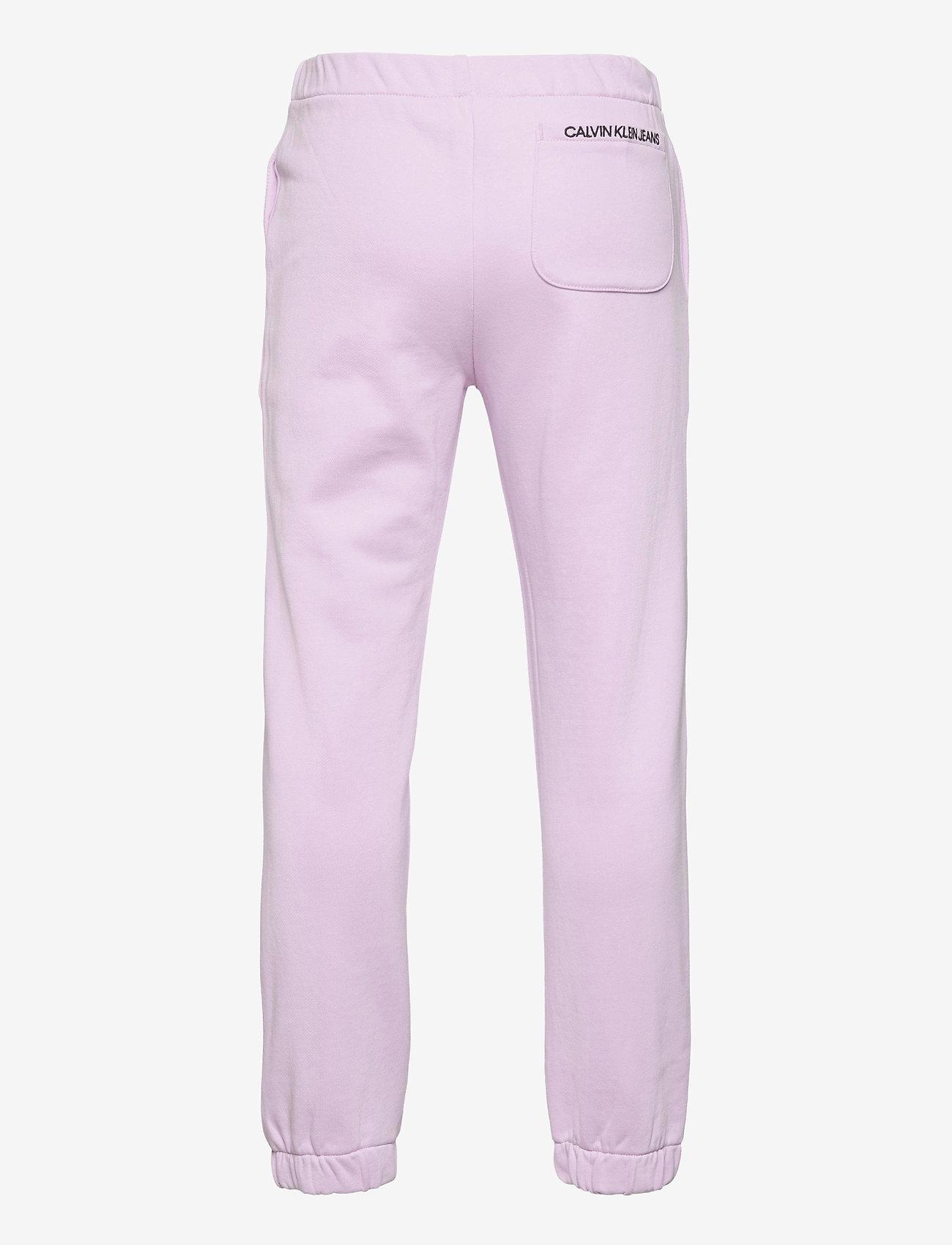 Calvin Klein - RELAXED ELASTIC SWEATPANTS - jogginghosen - lavender pink - 1