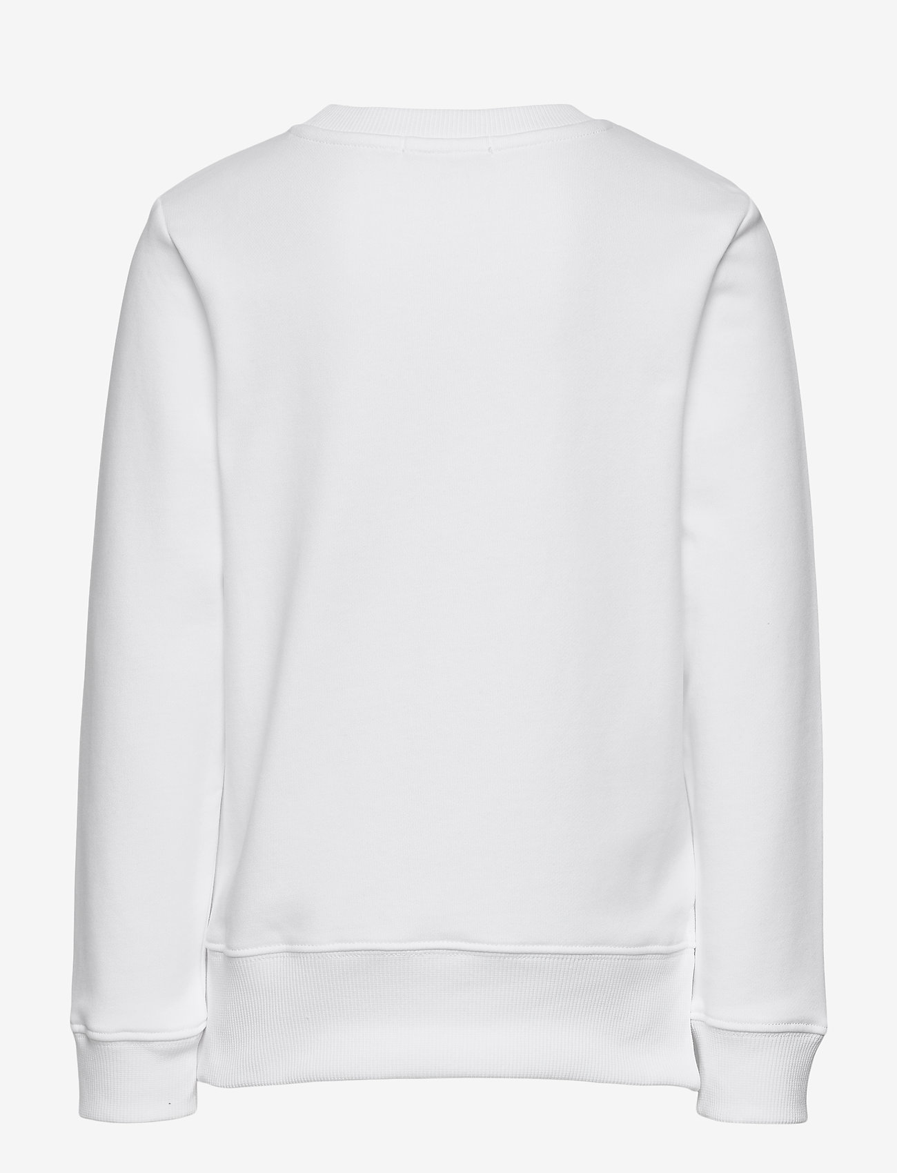 Calvin Klein - RAISED MONOGRAM SWEATSHIRT - sweatshirts - bright white - 1