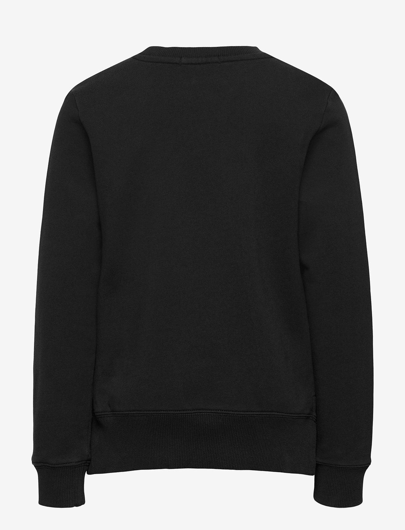 Calvin Klein - RAISED MONOGRAM SWEATSHIRT - sweatshirts - ck black - 1
