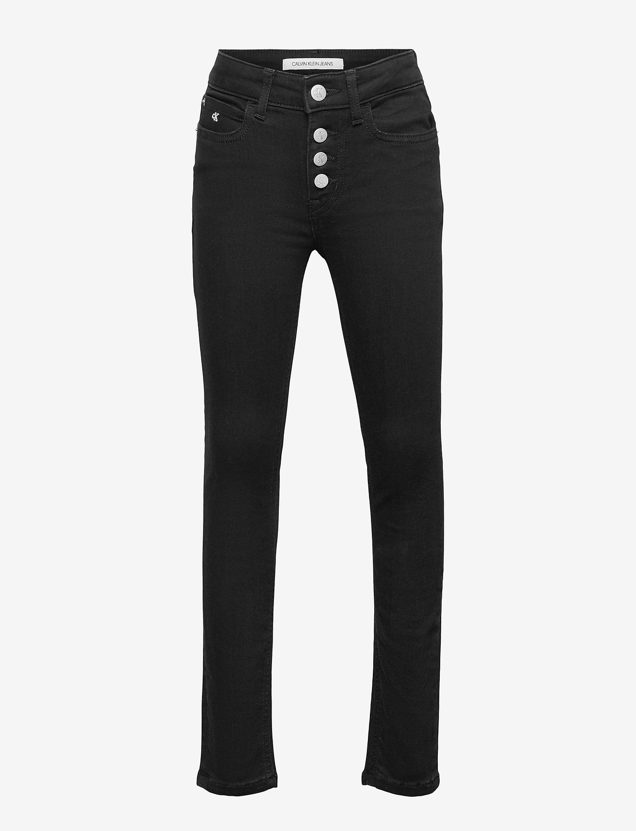Calvin Klein - SKINNY HR CLEAN BLK STR - jeans - clean black stretch - 0