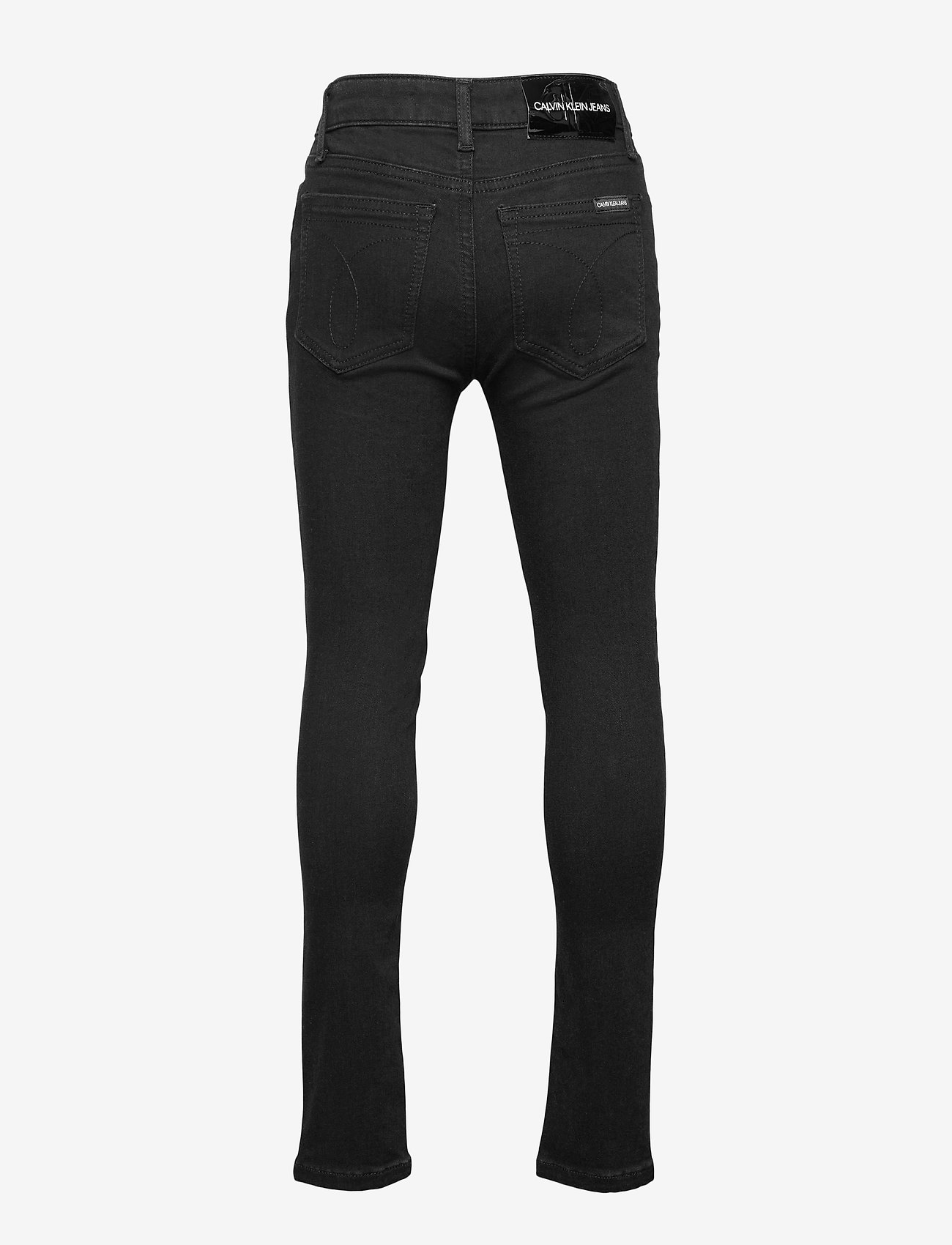 Calvin Klein - SKINNY HR CLEAN BLK STR - jeans - clean black stretch - 1