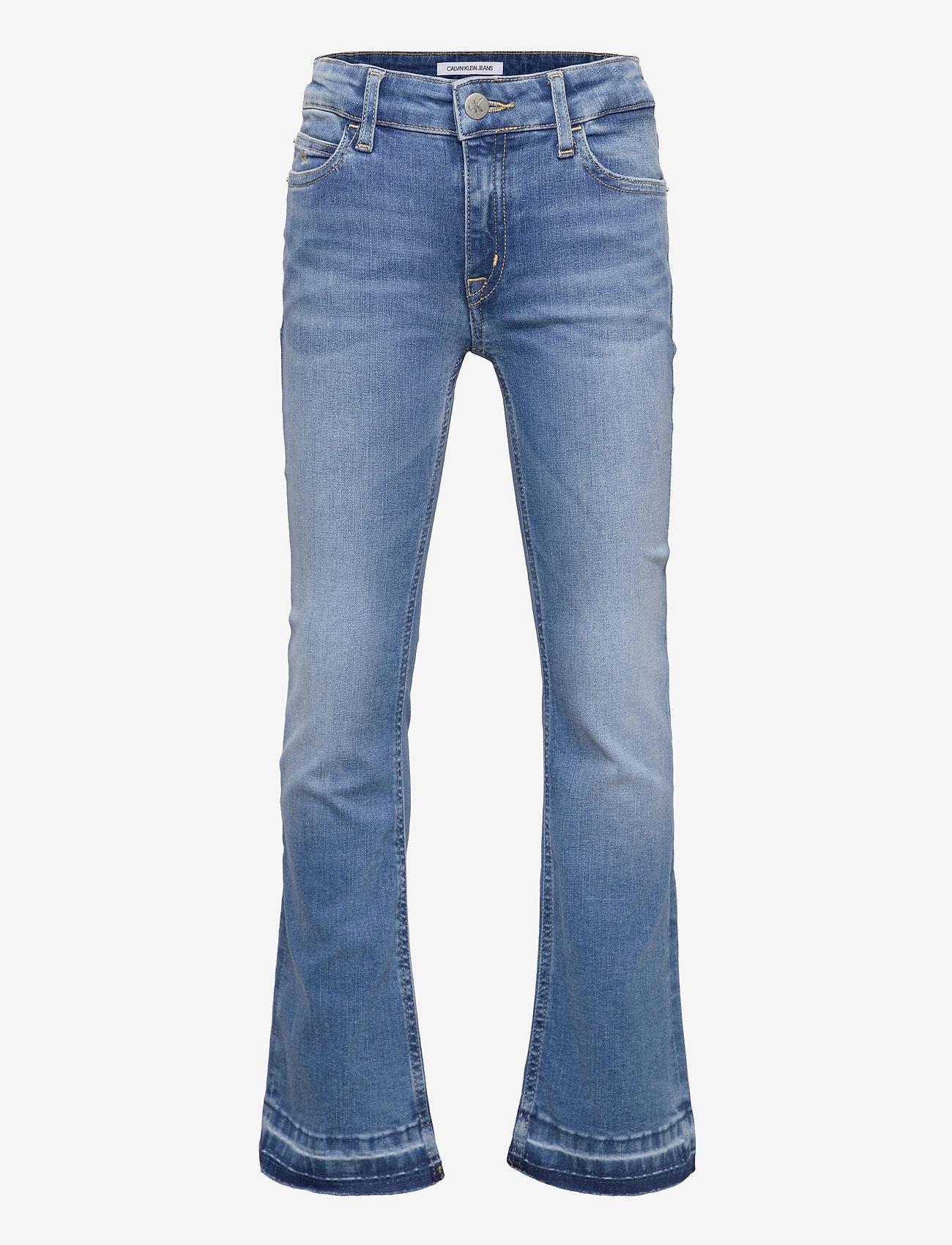 Calvin Klein - FLARE MR INFINITE LIGHT BL STR - jeans - infinite light blue stretch - 0