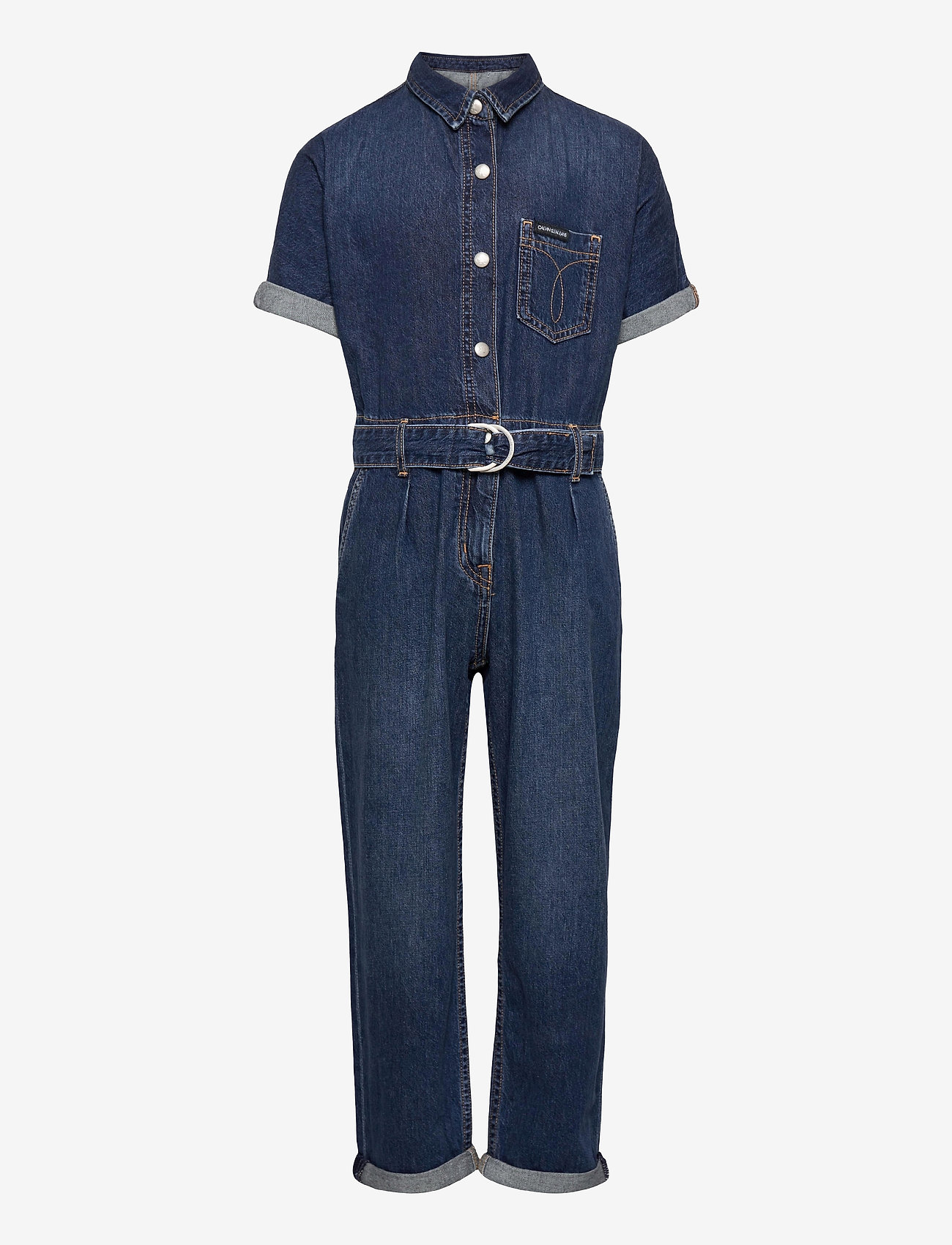 Calvin Klein - JUMPSUIT LT WT AUTH MID RD - jumpsuits - light weight authentic mid rigid - 0