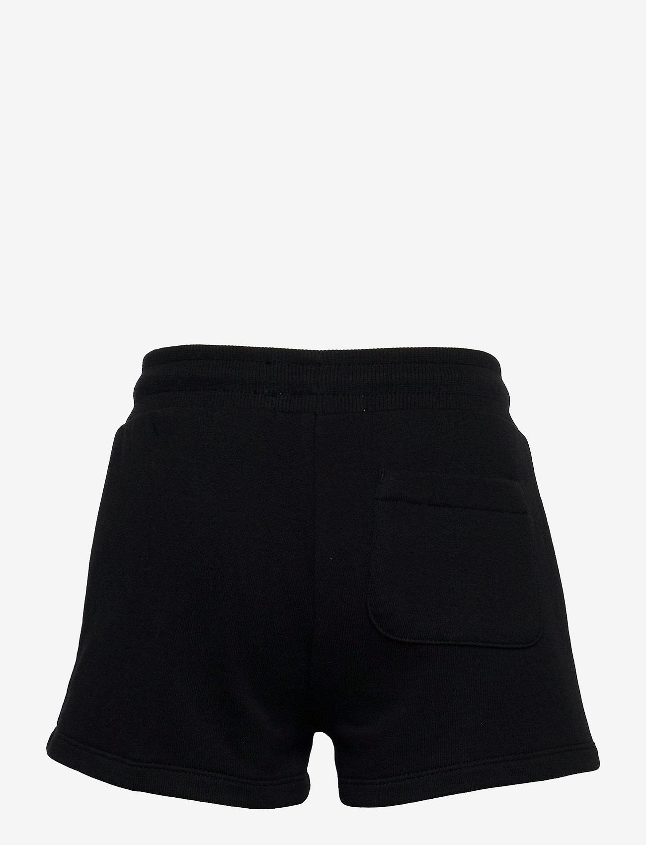 Calvin Klein - CK REPEAT FOIL KNIT SHORTS - shorts - ck black - 1