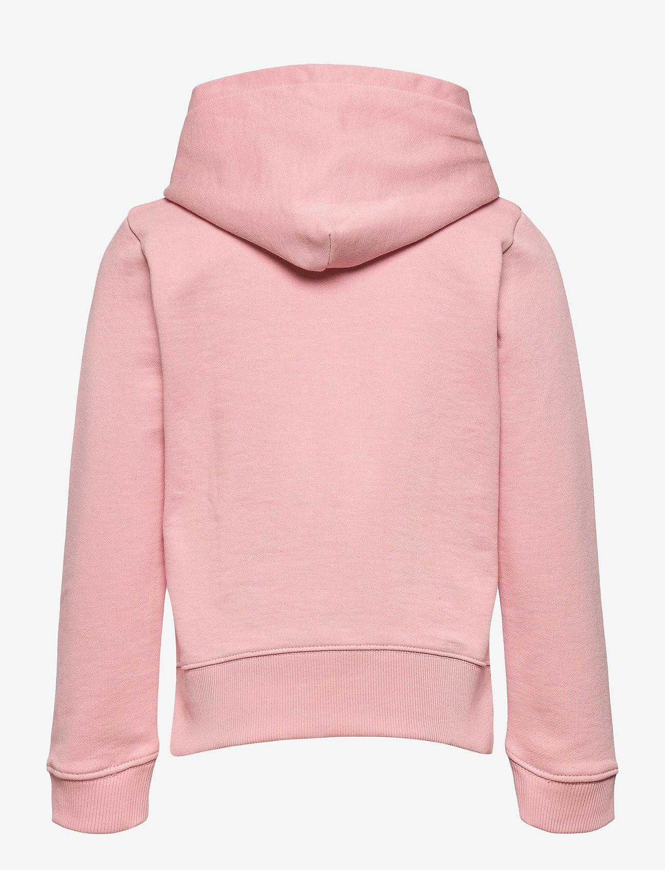 Calvin Klein - HYBRID LOGO HOODIE - kapuzenpullover - sand rose - 1