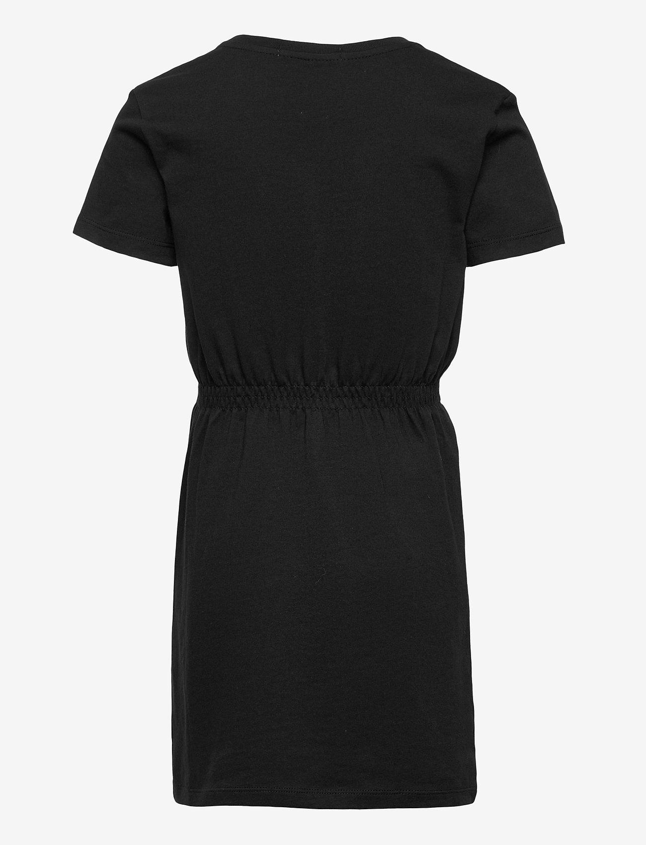Calvin Klein - HYBRID LOGO T-SHIRT DRESS - kleider - ck black - 1