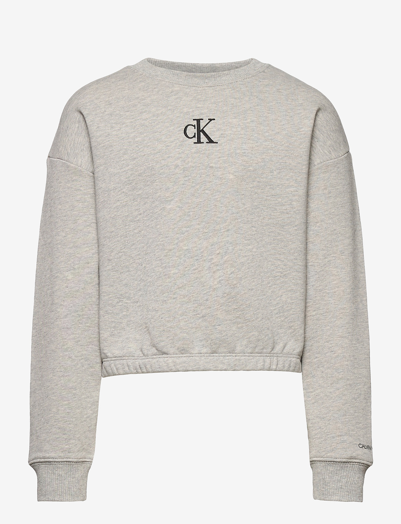Calvin Klein - LOGO BOXY SWEATSHIRT - sweatshirts - light grey heather - 0