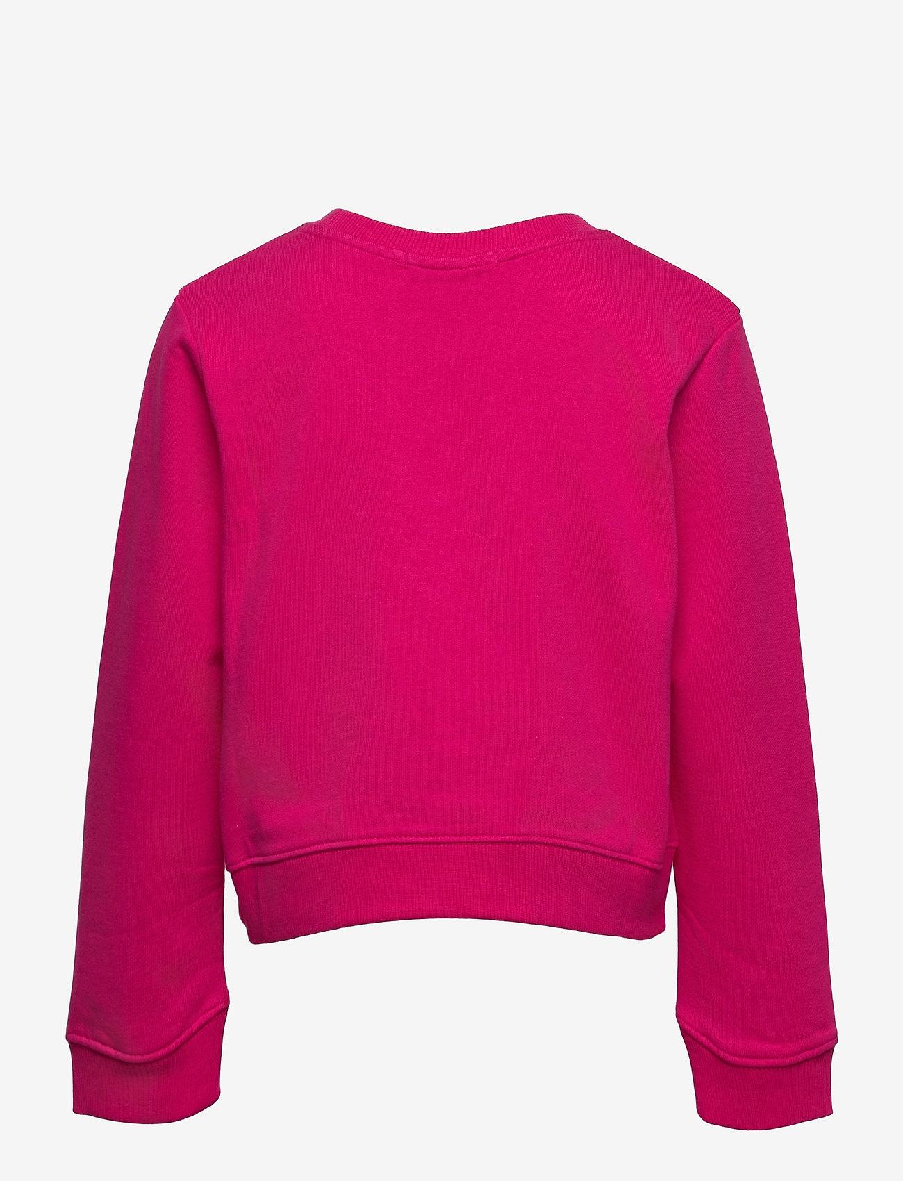 Calvin Klein - CK REPEAT FOIL SWEATSHIRT - sweatshirts - hot magenta - 1