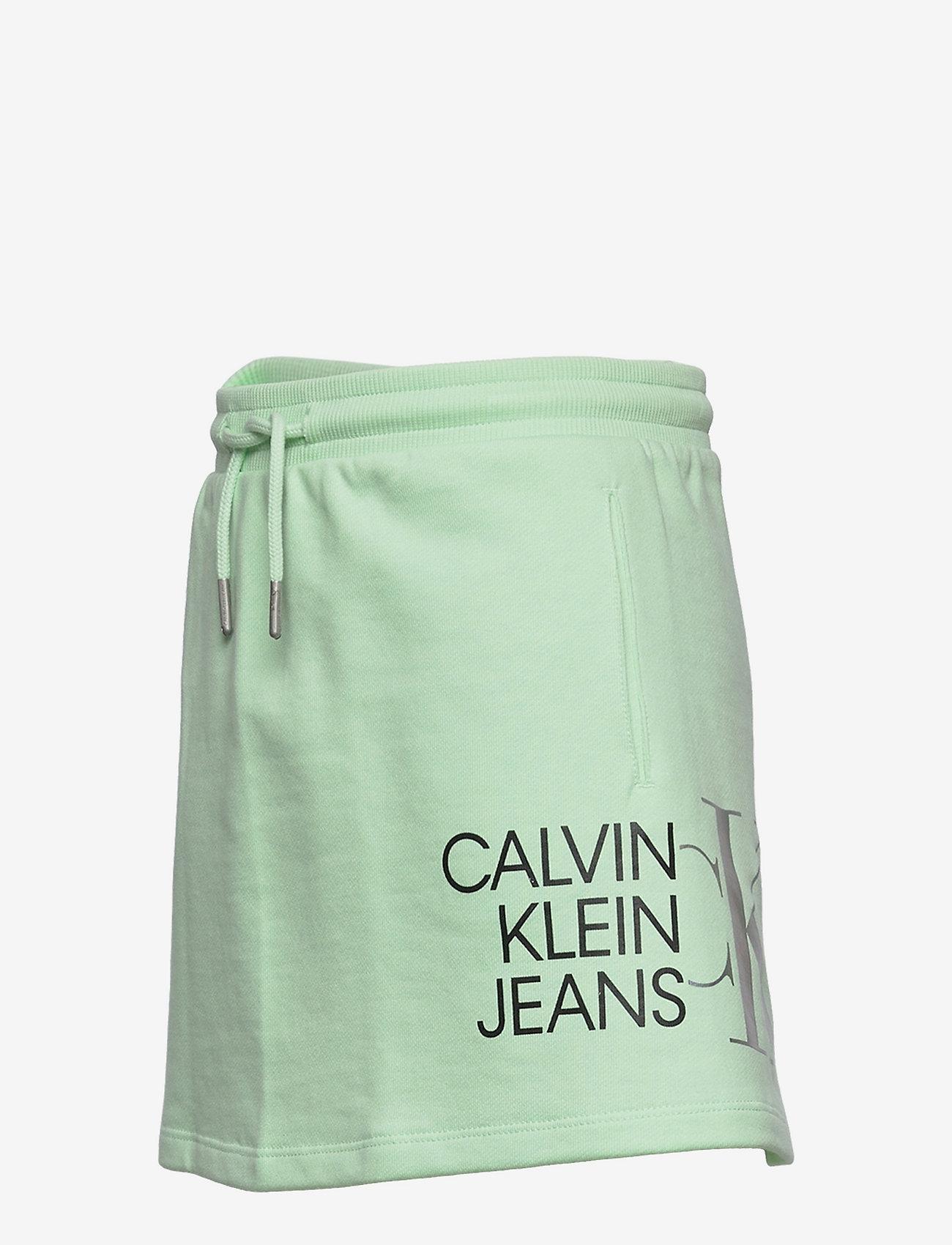 Calvin Klein - HYBRID LOGO SKIRT - jurken & rokjes - dew green - 2