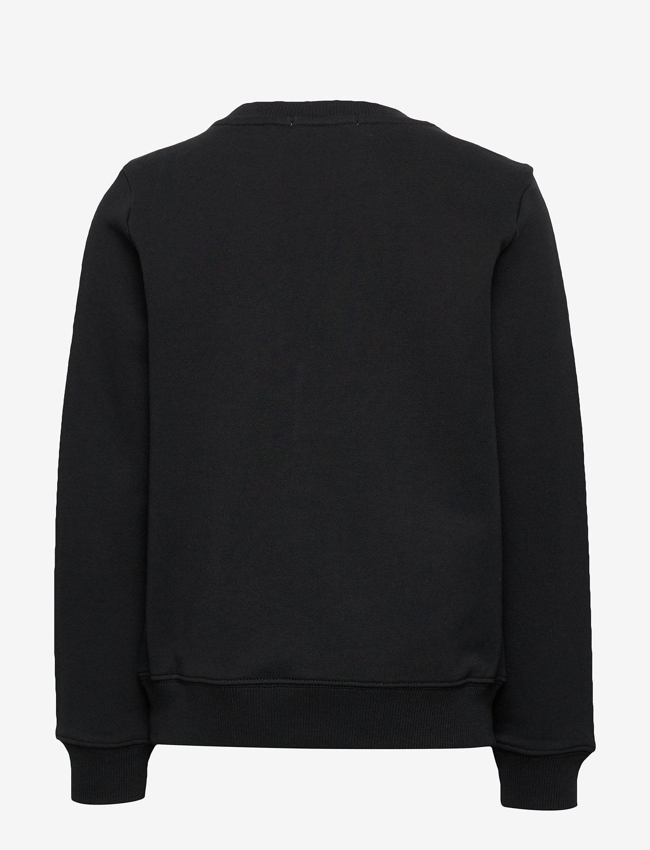 Calvin Klein - MONOGRAM LOGO SWEATSHIRT - sweatshirts - ck black - 1