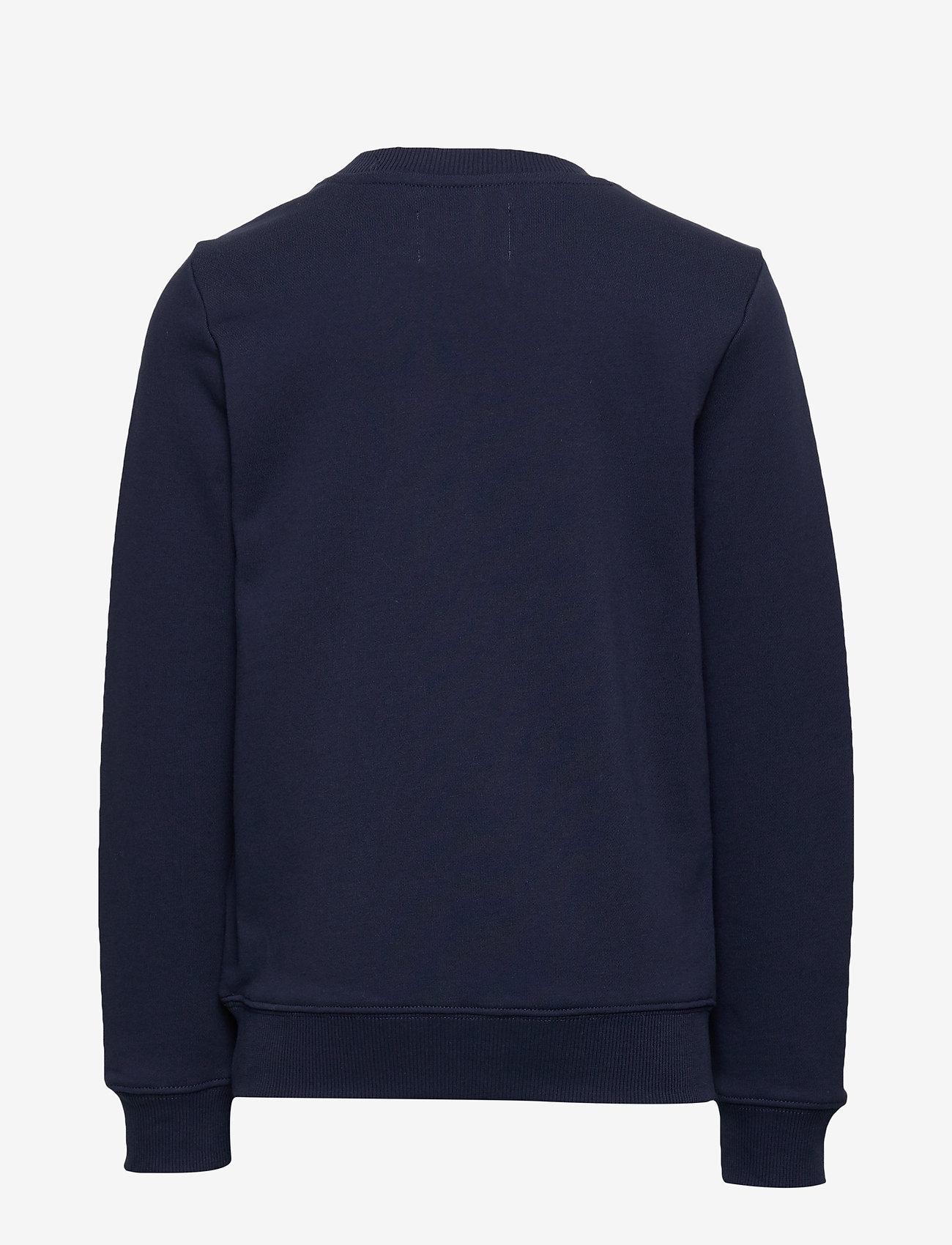 Calvin Klein - MONOGRAM LOGO SWEATSHIRT - sweatshirts - peacoat - 1