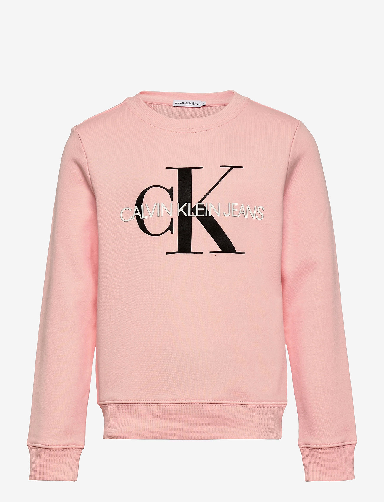Calvin Klein - MONOGRAM LOGO SWEATSHIRT - sweatshirts - sand rose - 0