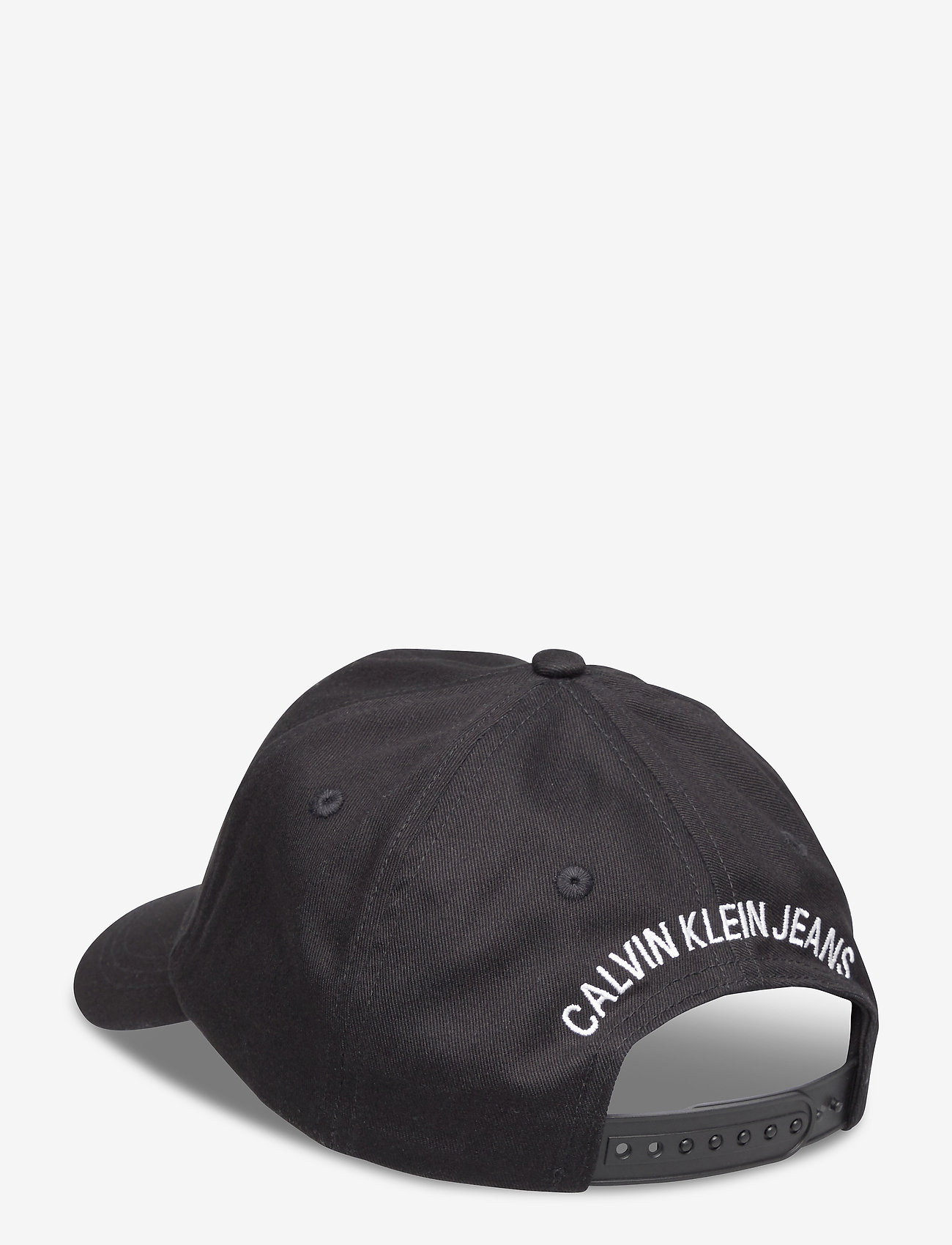 Calvin Klein - MONOGRAM BASEBALL CAP - czapki - ck black - 1