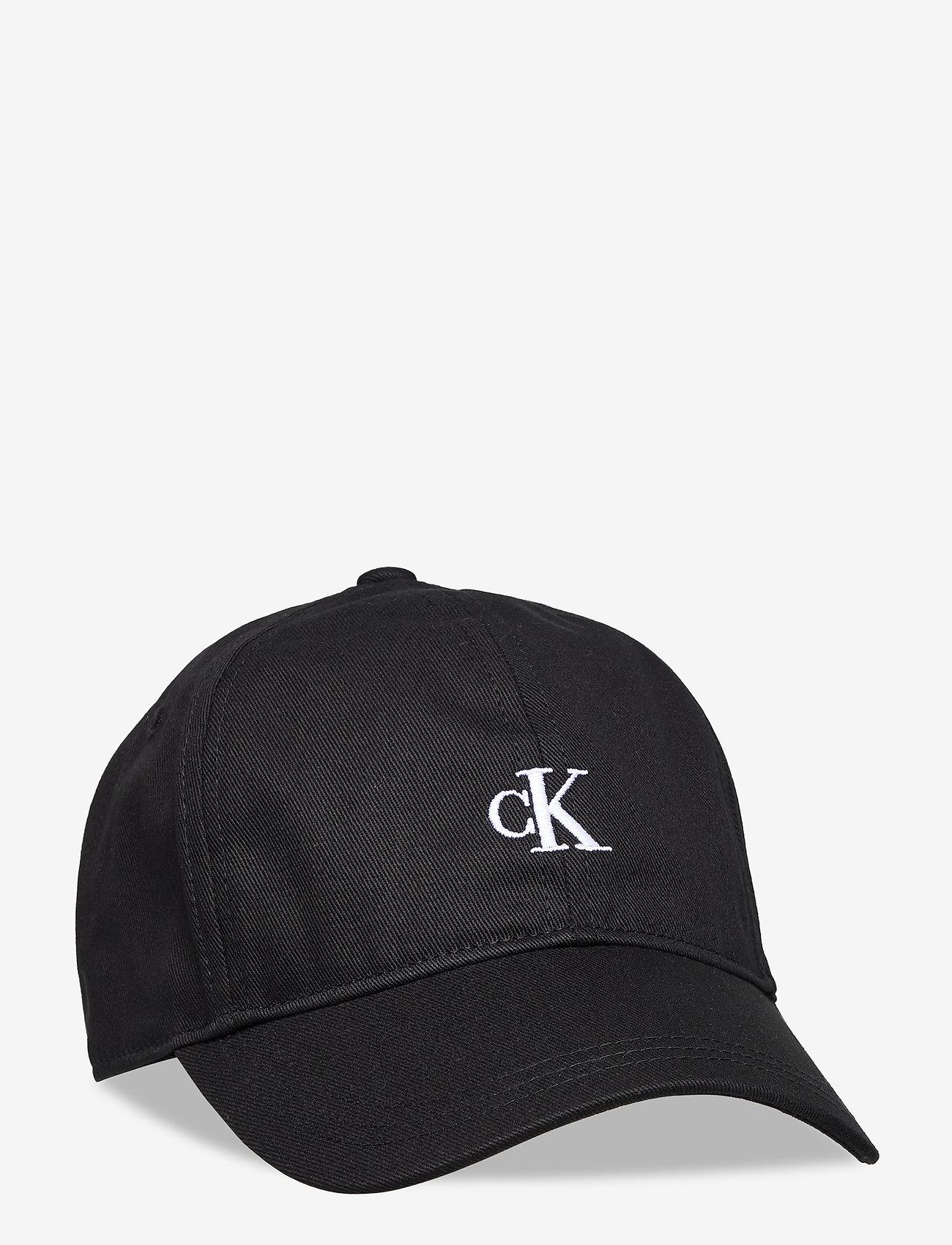 Calvin Klein - MONOGRAM BASEBALL CAP - huer & kasketter - ck black - 0