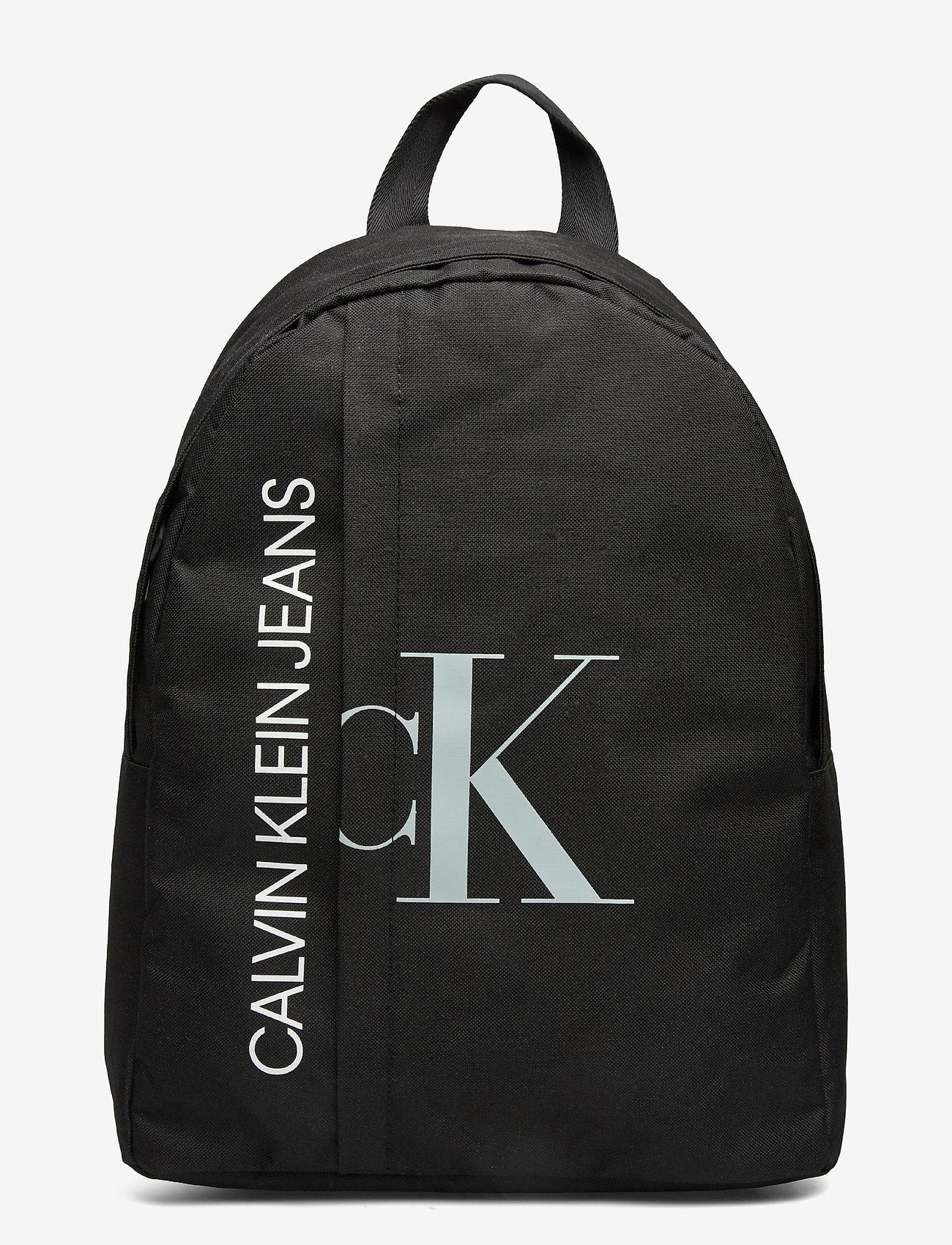 Calvin Klein - HYBRID LOGO BACKPACK - rucksäcke - ck black - 0