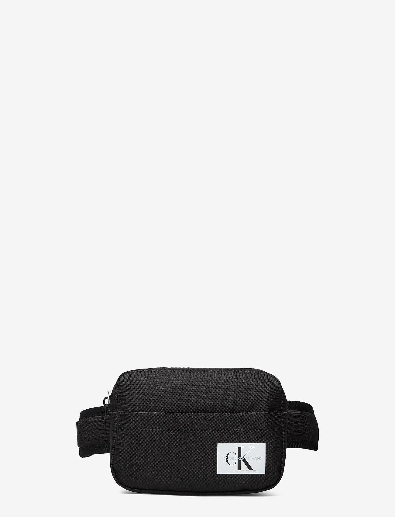 Calvin Klein - MONOGRAM BADGE WAISTBAG - tragetaschen & kleine taschen - ck black - 0