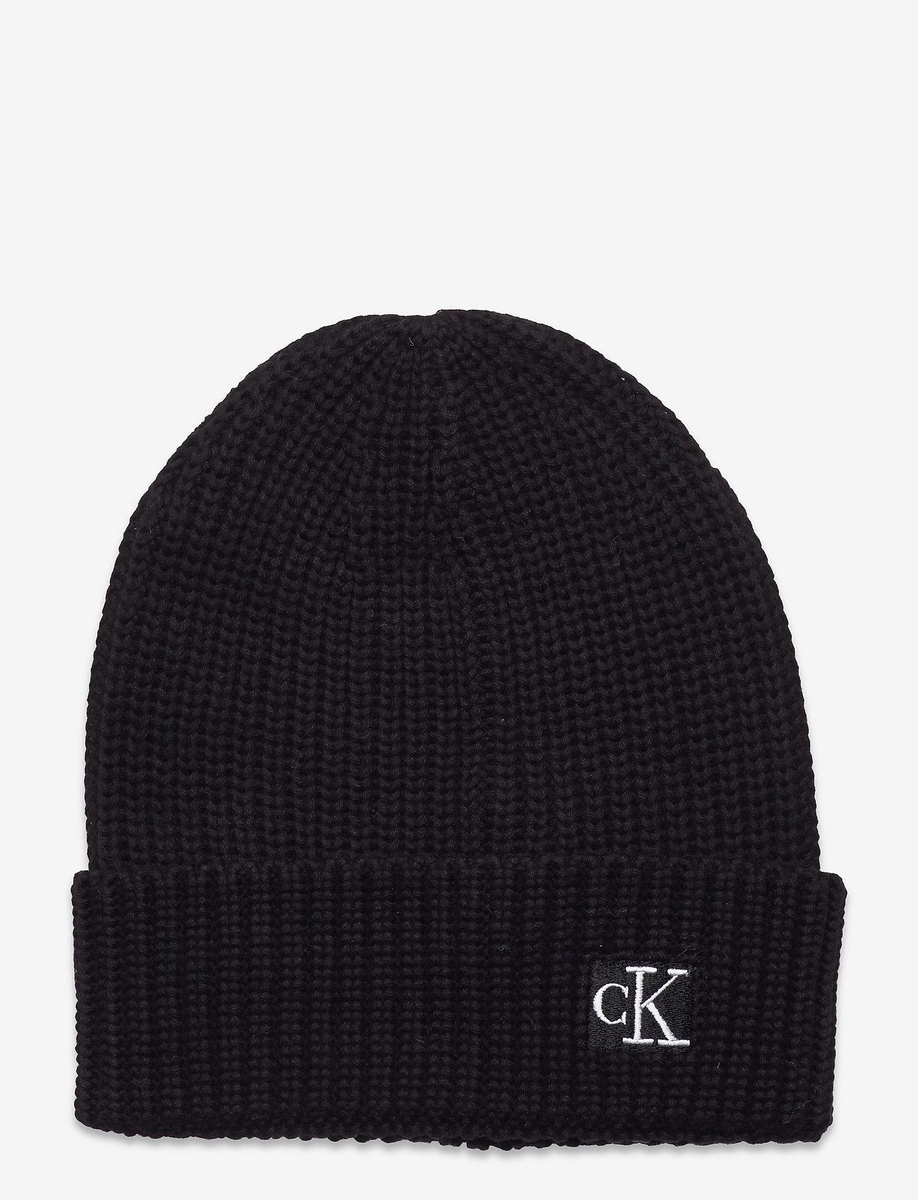 Calvin Klein - MODERN ESSENTIALS BEANIE - beanie - ck black - 0