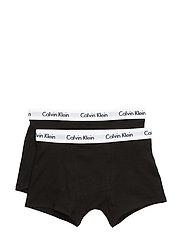 Calvin Klein - 2 PACK TRUNK - bottoms - black - 1