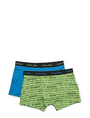 2PK TRUNK - POWER GREEN PR/STARK BLUE