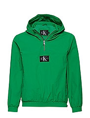 CK PACKABLE ANORAK WITH BUMBAG - FERN GREEN