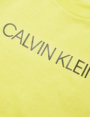 Calvin Klein - INSTITUTIONAL SS T-SHIRT - t-shirts - yellow lime - 2