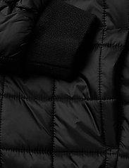 Calvin Klein - SQUARE QUILT LIGHT JACKET - dunjakker & forede jakker - ck black - 4