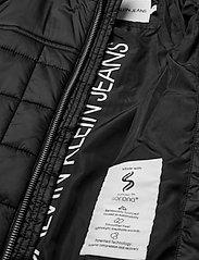 Calvin Klein - SQUARE QUILT LIGHT JACKET - dunjakker & forede jakker - ck black - 3