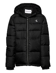 ESSENTIAL PUFFER JACKET - CK BLACK