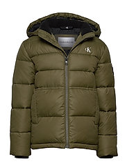 ESSENTIAL PUFFER JACKET - GRAPE LEAF