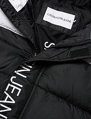 Calvin Klein - COLOUR BLOCK PUFFER JACKET - gewatteerde jassen - ck black - 3