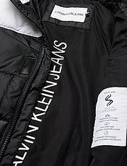 Calvin Klein - COLOUR BLOCK PUFFER JACKET - gewatteerde jassen - ck black - 5