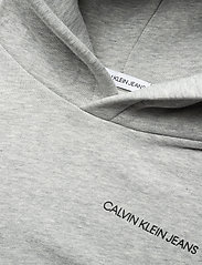 Calvin Klein - MONOGRAM SLEEVE HOODIE - hoodies - light grey heather - 2