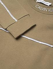 Calvin Klein - LOGO PIPING SWEATSHIRT - sweatshirts - olive khaki - 2