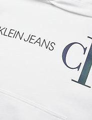 Calvin Klein - REFLECTIVE LOGO HOODIE - kapuzenpullover - bright white - 2