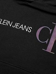 Calvin Klein - REFLECTIVE LOGO HOODIE - kapuzenpullover - ck black - 2