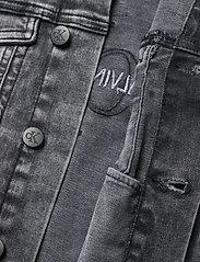 Calvin Klein - TRUCKER JACKET MN DARK W GR STR - jeansjacken - monogram dark wash grey stretch - 3