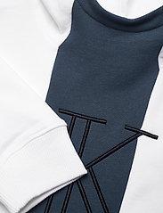 Calvin Klein - MONOGRAM BLOCK HOODIE - kapuzenpullover - bright white - 2
