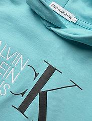 Calvin Klein - HYBRID LOGO HOODIE - kapuzenpullover - bright sky - 2