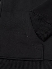Calvin Klein - HYBRID LOGO ZIP THROUGH - kapuzenpullover - ck black - 3