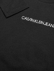 Calvin Klein - SMALL INSTITUTIONAL LS T-SHIRT - langärmelig - ck black - 2