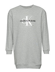 MONOGRAM SWEATSHIRT - LIGHT GREY HEATHER