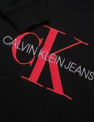 Calvin Klein - NEON MONOGRAM SWEATSHIRT DRESS - robes - ck black - 2