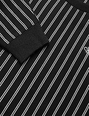 Calvin Klein - STRIPE LOGO TAPE SWEATSHIRT - sweatshirts - ck black city yd stripe - 2